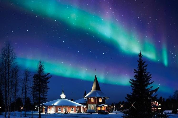 Buon Natale Que Significa.La Lapponia Finlandese E Il Natale Lettera Di Babbo Natale Dalla