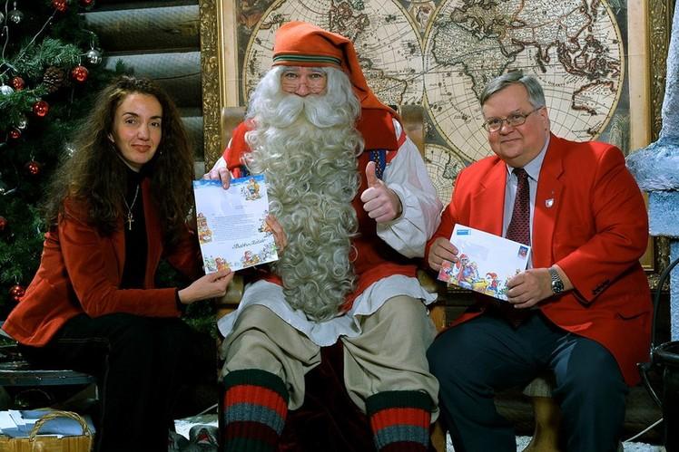 CERTIFICATO DI AUTENTICITA . La Lettera Personalizzata del vero Santa Claus  Rovaniemi Finland - Arctic Circle a5c920fe2e8d